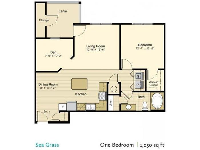Sea Grass Floor Plan